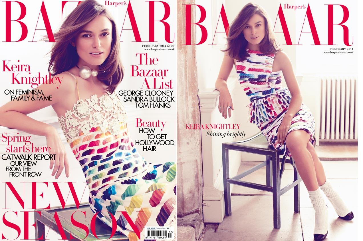 Keria Knightley Harpers Bazaar