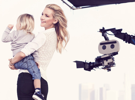 Kate Hudson  in Ann Taylor's spring 2014 campaign