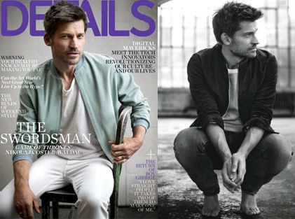 Nikolaj Coster-Waldau in the new issue of Details