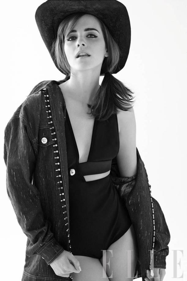 Emma Watson Elle cover