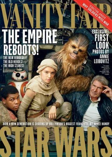 Star Wars Vanity Fair cover