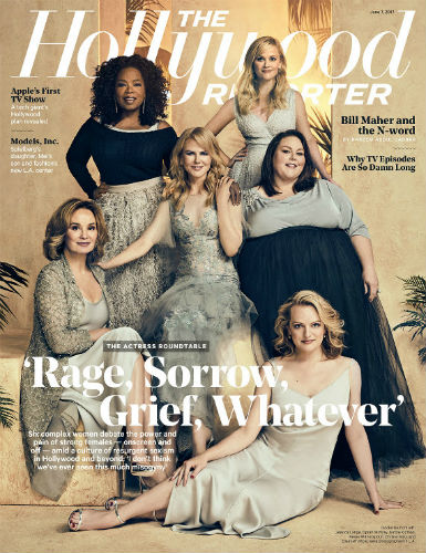 Oprah, Reese Witherspoon, Nicole Kidman, Jessica Lange, Elisabeth Moss