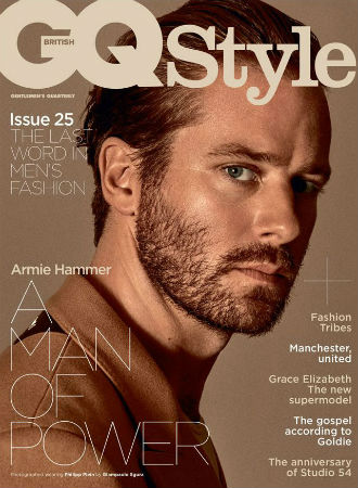 armie hammer GQ call me by your name