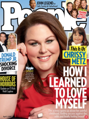 Chrissy Metz people cover parenthood