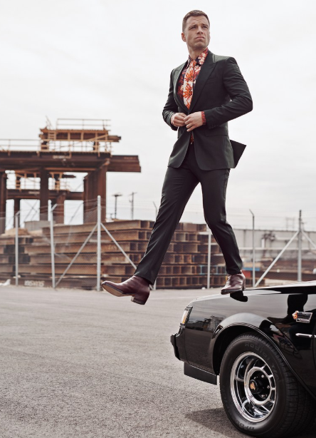 Sebastian Stan Suits Up GQ