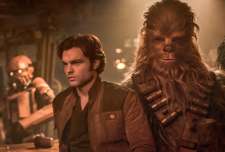 Solo A Star Wars Story reviews