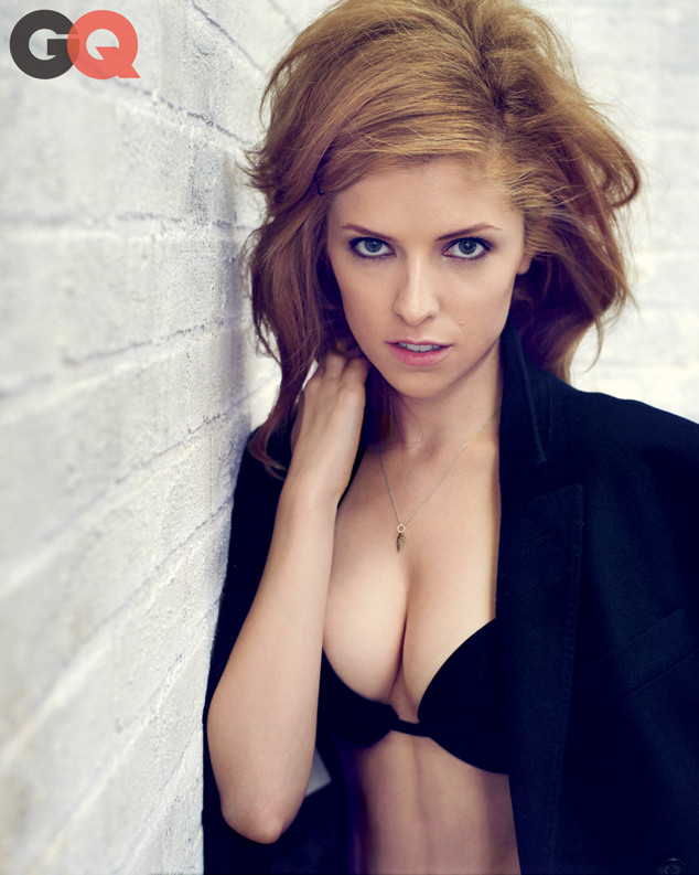 Anna Kendrick strips down for a sexy GQ photo spread. (Marc Hom / GQ)