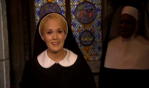 Carrie Underwood in NBC's Sound of Music.