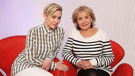 Miley Cyrus tells Barbara Walters about her dramatic split from Liam Hemsworth