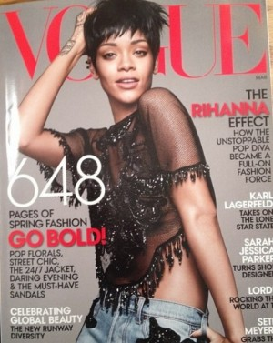 Rihanna leaked vogue