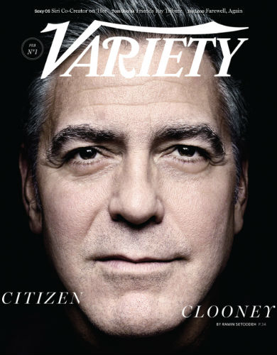 George Clooney Variety Cover