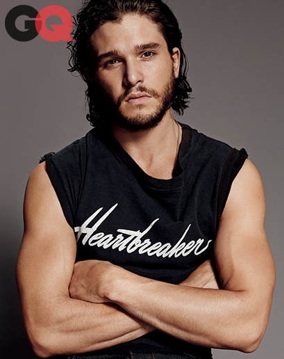 Kit Harington April 2014 issue of GQ