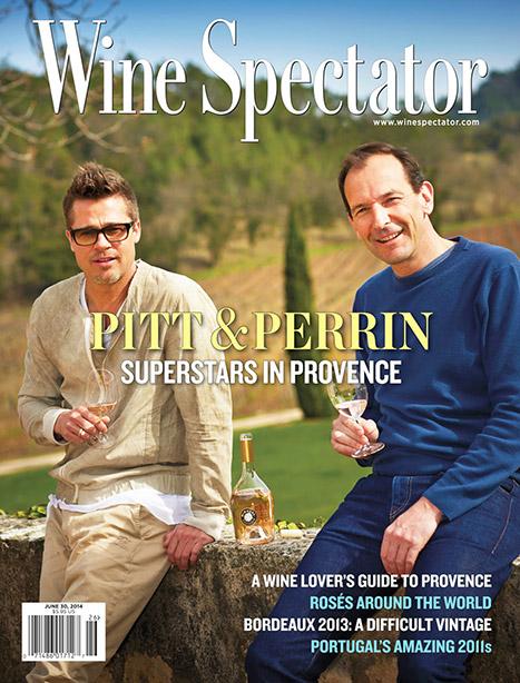 Brad Pitt wine