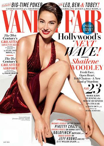 Shailene Woodley Vanity Fair