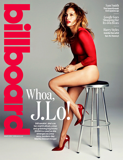 Jennifer Lopez billboard cover