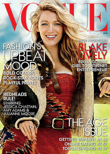 Blake Lively Vogue Preserve