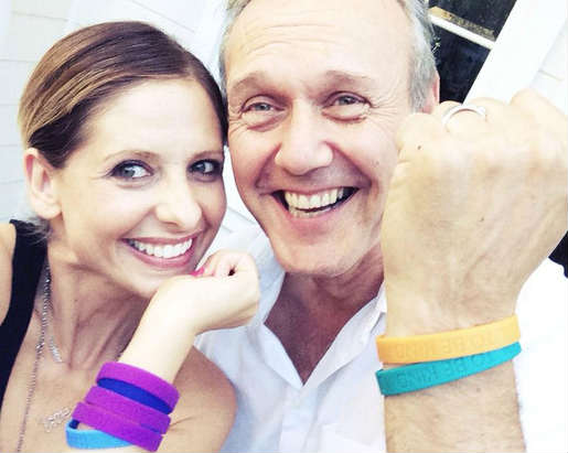 Sarah Michelle Gellar Anthony Stewart Head