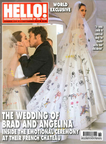 Angelina Jolie's wedding dress