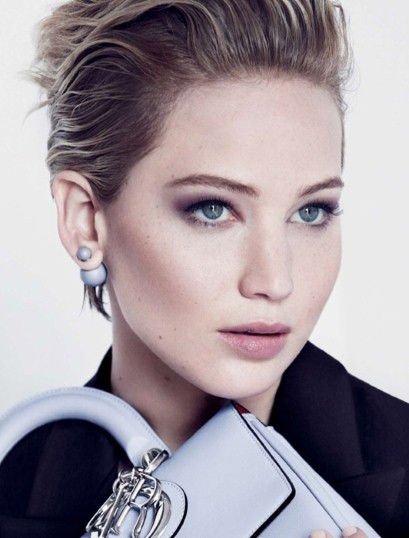Jennifer Lawrence in the latest 'Be Dior' campaign