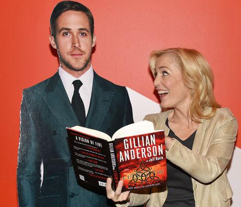 Gillian Anderson book