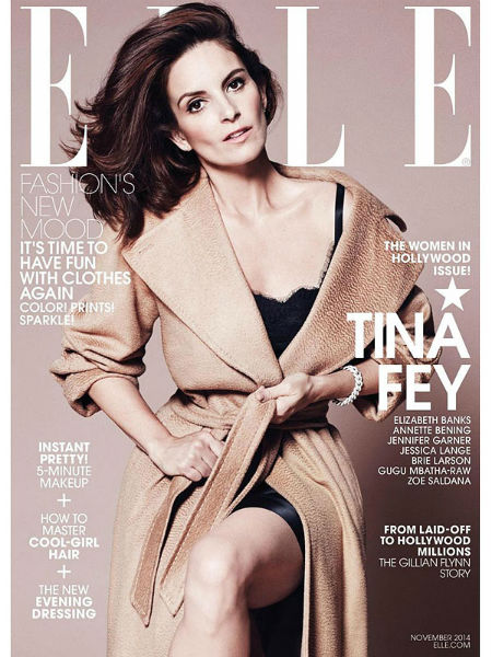 Tina Fey Elle cover