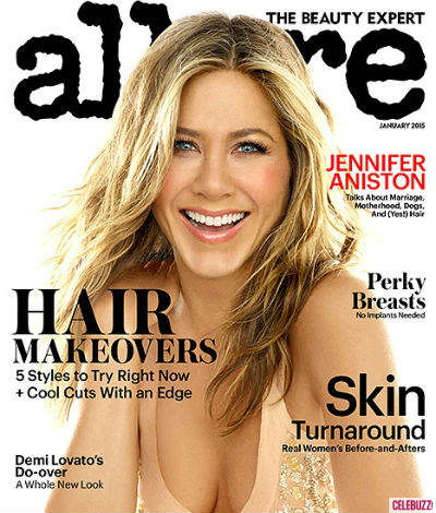 Jennifer Aniston Allure