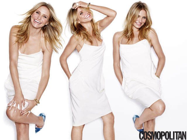 Cameron Diaz in the January issue of Cosmo