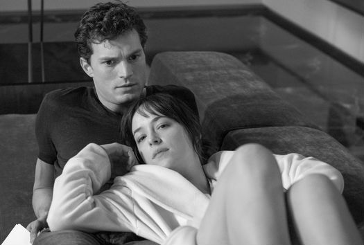 Dakota Johnson and Jamie Dornan Get Into Character for W