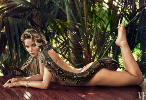 Jennifer Lawrence snake vanity fair