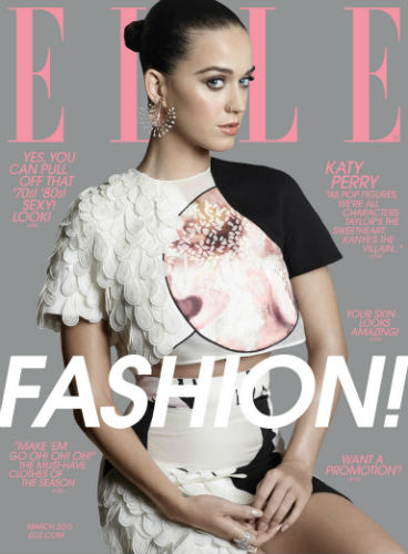 Katy Perry Talks Taylor Swift, Super Bowl in Elle