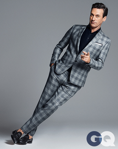 Jon Hamm in April's GQ