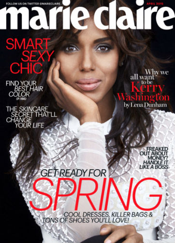 kerry washington marie claire
