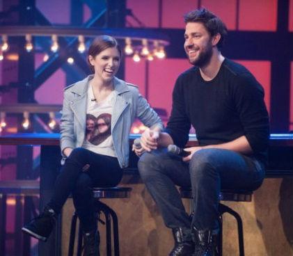 Anna Kendrick and John Krasinski appear on Lip Sync Battle