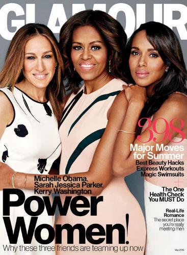 Sarah Jessica Parker, Michelle Obama, Kerry Washington