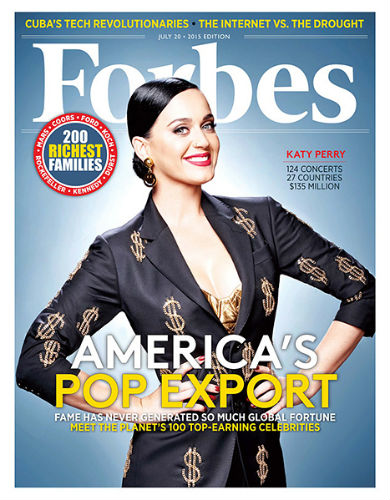 katy perry forbes highest paid list