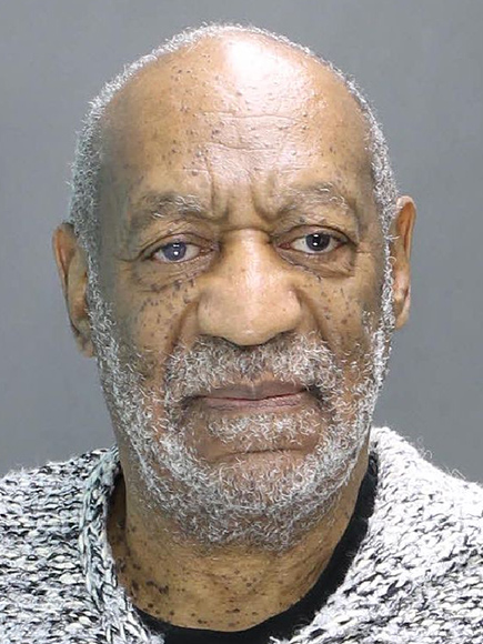 Bill Cosby's mugshot following his arrest in Montgomery County, Pennsylvania