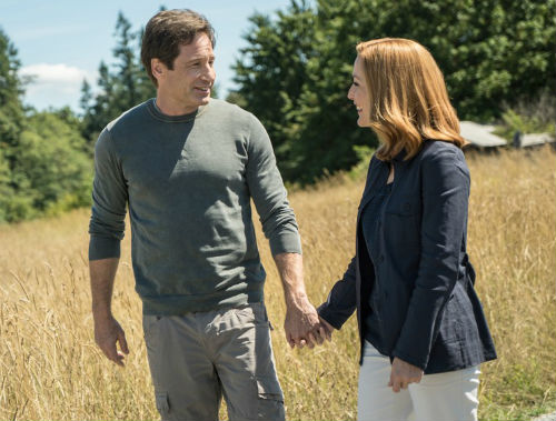 gillian anderson david duchovny x files coming back