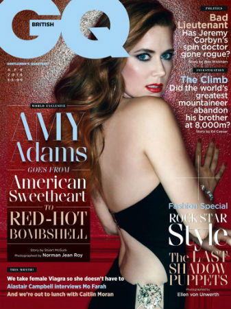 Amy Adams British GQ cover