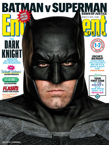 Ben Affleck Sulks on the Cover of EW