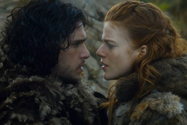 jon snow and ygritte dating in real life