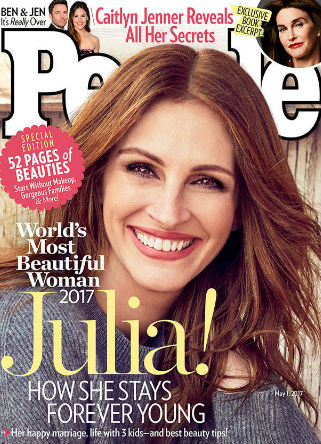 Julia Roberts' People Most Beautiful Woman