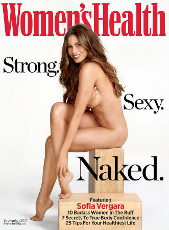 Sofia Vergara Poses Nude for Women's Health