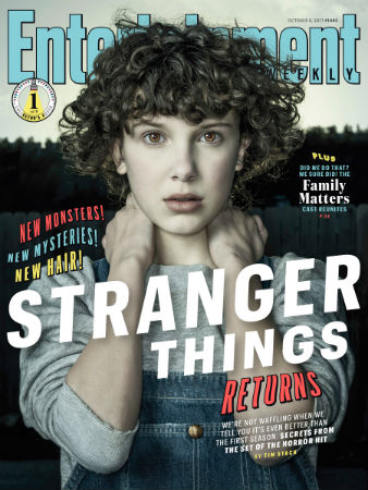 stranger things season 2 entertainment weekly cover