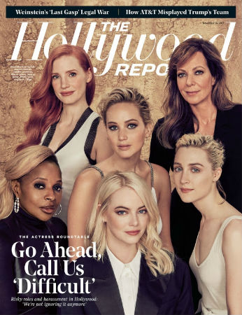 Jennifer Lawrence, Emma Stone, Mary J. Blige, Jessica Chastain, Allison Janney and Saoirse Ronan.